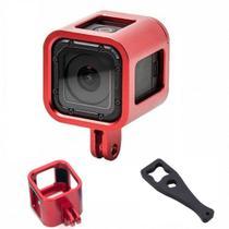 Acessório Frame Armação GoPro Session 4,5 - vermelho - Shoot