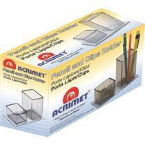 Acessorio para Mesa LAPIS/CLIPS Acrilico Fume - Acrimet