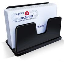 Acessorio para Mesa Porta Cartao Visita Classic PT - Acrimet