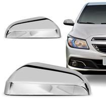 Acessorios Aplique Cromado Capa Retrovisor Onix 2013 a 2019 - Chevrolet