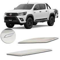 Acessórios Aplique Cromado Capo Toyota Hilux 16 a 19 Srv Srx - Prime