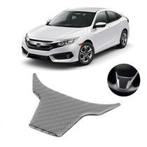 Acessorios Aplique Volante Fibra Carbono Honda Civic 2017 -