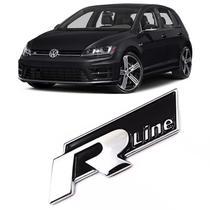 Acessórios Emblema R Line Volkswagen Golf Up Gol Fox Polo Up - Prime