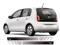 Acessórios Kit Adesivos Faixa Lateral Volkswagen Vw Up! Tsi -