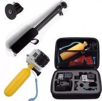 Acessórios para câmeras Go Pro  Sj8 SJ4000 Xtrax Eken Sony Sport Hd Cam Ultra 4k Mala - Generico