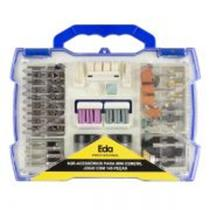 Acessórios Para Micro Mini Retífica Kit 145 Peças E Maleta 9 - Eda