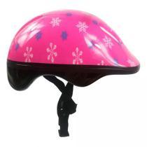 Acessórios Proteção Infantil Capacete Patins Skate Bicicleta Feminino Pink Dm - Dm Toys