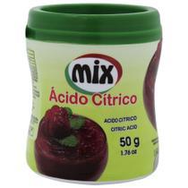 Ácido Citrico 50g - Mix -