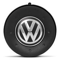 Acionador de Buzina Gol Saveiro Parati G4 Santana Fox Kombi 96 a 13 Tampa Preta Com Emblema VW - Cvd