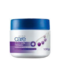 Aclara Noite Creme Facial  Clareador Avon Care 100g -