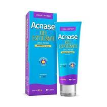 Acnase Gel Esfoliante Limpeza Profunda Antiacne Facial 80g -