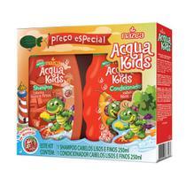 Acqua Kids Estojo Lisos E Finos Shampoo + Condicionador 250ml -