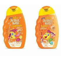 Acqua kids kit shampoo + condicionador 400ml cacheados - Nazca