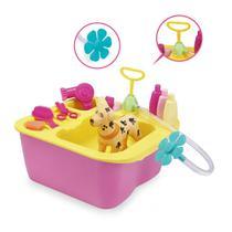 Acqua Pet Brinquedo para Banho Cachorro Pet Shop Cachorrinho XPlast Home Play 8011 -