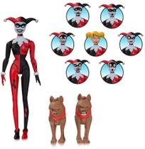 Action Figure Animated Harley Quinn Expressions - Arlequina - Diamond select