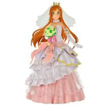 Action Figure Asuna Yuuki Wedding - Sword Art Online Code Register - Banpresto -