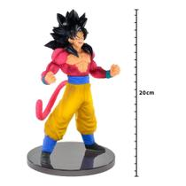 Action Figure - Dragon Ball Gt - Blood Of Saiyans Special III - Super Saiyan 4 - Goku - Banpresto - Bandai banpresto