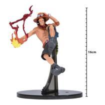 Action Figure - One Piece Sculture - Portgas D Ace - Banpresto - Bandai Banpresto