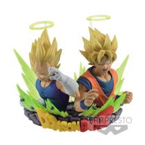 Action Figure Super Saiyan Goku  Vegeta (Com: Figuration Gogeta Vol. 2) Dragon Ball Z - Banpresto