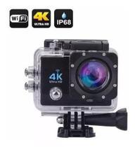 Action Go Cam Pro Sports Ultra 4k Full Hd 1080p Prova D'agua - Gold - Fit