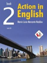 Action In English 2 - Student's Book With Audio CD - Komedi -