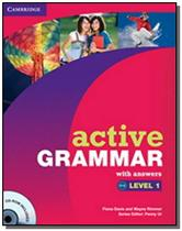 Active grammar level 1 - with answers and cd-rom - Cengage -