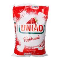 Açúcar Refinado com 1kg União -