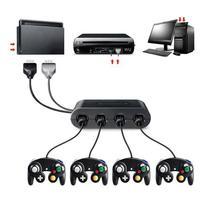 Adaptador 4 Controles Game Cube Nintendo Switch Wii U e PC - Ce Compass