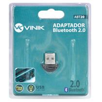 Adaptador Bluetooth 2.0 Mini USB para PC e Notebook ABT20 Vinik