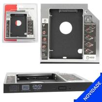 """Adaptador Caddy Notebook para Segundo HD ou SSD 2.5"""" SATA - 9.5mm LT-H003 - Lotus"""