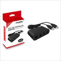 Adaptador Controle GC 3 Em 1 Para N-Switch / WiiU / Pc - Dobe