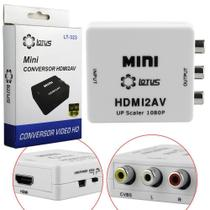 Adaptador Conversor HDMI para RCA Video Composto AV Lotus LT-323 Lotus