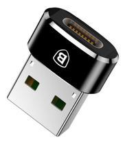 Adaptador conversor usb-c  tipo-c para usb baseus -