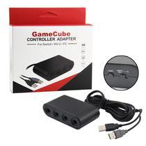 Adaptador De Controle Gamecube Para Nintendo Wii U 4 Portas - Techbrasil