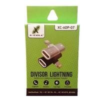 Adaptador de Fone e Carga Iphone Lightining Xcell XC-ADP-07 - X-cell