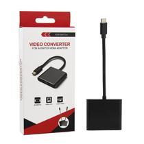 Adaptador de Vídeo Compatível Com Nintendo Switch Tipo-C Para Hdmi Usb 3.0 - Techbrasil