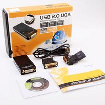 Adaptador De Vídeo Usb 2.0 X Vga Dvi Hdmi Multi Display Uga -