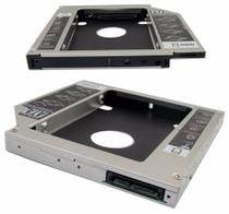 Adaptador Dvd para Hd Ou Ssd Notebook Drive Caddy 9,5mm Sata - Eletronics