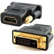 Adaptador DVI-D Macho P/ HDMI fêmea - Md.9