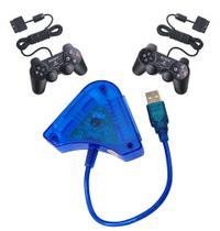Adaptador Para Controle Joystick Controle Usb Pc Ps1 Ps2 - Voo -