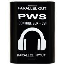Adaptador para Fone de Ouvido CONTROL BOX CB1 - Pws