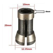Adaptador Pinça Para Tupias De Coluna P/ Fresas De 6mm - LMS