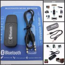 Adaptador Receptor rx via Bluetooth USB Musica Som de carro e para radio + cabo P2 - Bluetooth music
