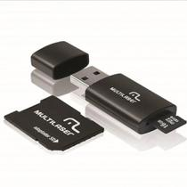 Adaptador SD mais Pendrive e Cartão de Memória 16GB Multilaser -