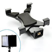 Adaptador Tablet Celular Montagem em Tripé Monopé ou Bastão - SP14 - Rollin