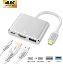 Adaptador TIPO-C HDMI X USB 3.0 X TIPO-C XT-2155 - Xtrad