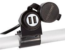 Adaptador Tomada USB Duplo com Carregador motocom MT201 -