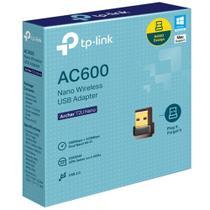 Adaptador TP-Link Archer T2U Nano Wireless USB AC600 - Preto -