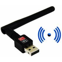 Adaptador Usb 2.0 Wireless Com Antena Wifi 802.11 600 Mbps - Feir