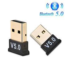 Adaptador Usb Bluetooth 5.0 CSR Para Notebook Pc -